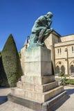 La sculpture en penseur Rodin Museum, Paris, France images stock