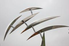 La sculpture en ville dans le jardin de Wuhu Shenshan (Wuhu, porcelaine) Image libre de droits