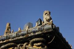 La scultura della città Fotografie Stock Libere da Diritti