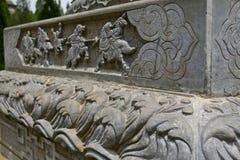 La scultura di pietra di Shaolin Temple fotografia stock libera da diritti