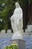 La scultura di vergine Maria alla cattedrale di Nha Trang vietnam Immagine Stock Libera da Diritti