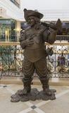 La scultura nel grande magazzino a Ekaterinburg, Federazione Russa Fotografia Stock Libera da Diritti
