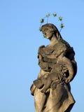 La scultura religiosa Immagini Stock