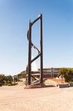 La scultura sconosciuta Fotografia Stock