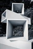 La scultura senza titolo (Aarhus Danimarca) Fotografia Stock Libera da Diritti