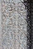 La scultura in tempio di Angkor Wat Fotografia Stock Libera da Diritti