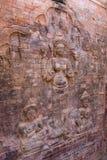La scultura in tempio di Prasat Kravan Immagine Stock Libera da Diritti