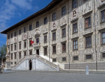 La Scuola Normale Superiore Pisa - architectural detail Stock Photo