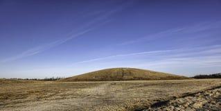 Señal ligera de la colina en Esbjerg, Dinamarca imágenes de archivo libres de regalías