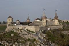 La señal principal de la ciudad - la fortaleza vieja Fotos de archivo libres de regalías