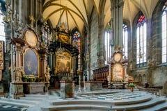 La se?al de Viena - la catedral de St Stephen, Austria fotografía de archivo libre de regalías