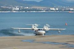 LA-8 sea plane Stock Photography