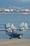 LA-8 sea plane Stock Photo