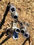 La seconda guerra mondiale del fucile della museruola fotografia stock
