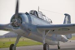 La seconda guerra mondiale medio-atlantica del museo dell'aria Fotografia Stock Libera da Diritti
