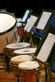 La section de percussion photos stock
