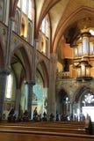 La section de prière de Martinus Church est une basilique néogothique dans Cuijk Pays-Bas Photographie stock libre de droits