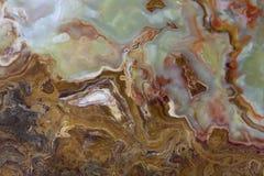 La section transversale d'un morceau de jade Photographie stock libre de droits