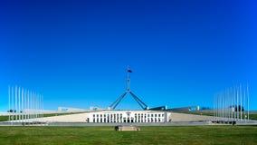 La sede del parlamento dell'Australia fotografia stock
