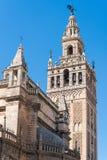 La Sede, Sevilla, Andalucía, España de Catedral de Papá Noel MarÃa de imagenes de archivo