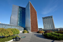 La sede sociale di Swedbank, Vilnius Immagini Stock Libere da Diritti