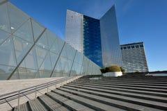 La sede sociale di Swedbank, Vilnius Immagine Stock Libera da Diritti