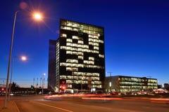 La sede sociale di Swedbank, Vilnius Immagini Stock