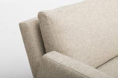 La sedia di club casuale dal migliore arredamento domestico, peluche ha attenuato le parti posteriori mescola con i braccioli rot fotografia stock