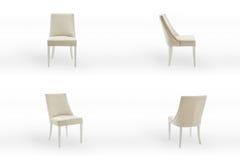 La sedia ha messo 2 Immagini Stock