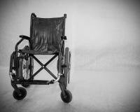 La sedia a rotelle. Fotografia Stock