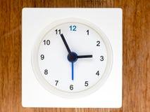 La segunda serie de la secuencia del tiempo, 24/96 Foto de archivo libre de regalías
