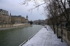 La Seine Royalty Free Stock Images