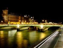 La Seine Fotografia de Stock Royalty Free