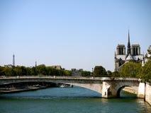 La Seine Paris Image libre de droits