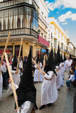 La Semana Santa Procession in Spagna, Andalusia Immagine Stock Libera da Diritti