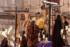 La Semana Santa Procession in Spagna, Andalusia Immagine Stock