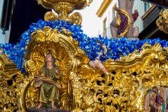 La Semana Santa Procession in Spagna, Andalusia Immagini Stock Libere da Diritti