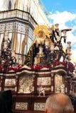 La Semana Santa Procession in Spagna, Andalusia, Siviglia Fotografie Stock
