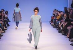 La 38.a semana ucraniana de la moda en Kyiv, Ucrania Fotografía de archivo