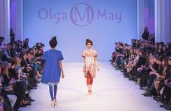 La 38.a semana ucraniana de la moda en Kyiv, Ucrania Imágenes de archivo libres de regalías