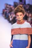 La 38.a semana ucraniana de la moda en Kyiv, Ucrania Fotos de archivo