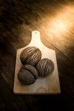 La semilla de los oddloam secos de Cerbera Fotos de archivo libres de regalías