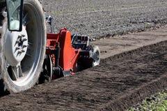 La semina delle macchine della preparazione del suolo Fotografia Stock
