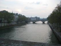 La Senna a Parigi Immagine Stock
