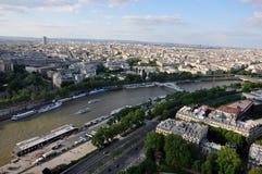 La Senna Parigi Fotografia Stock Libera da Diritti