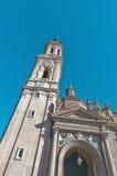 La Seo Cathedral at Zaragoza, Spain Stock Photo
