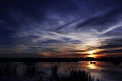 La sera magica fotografia stock libera da diritti