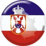 La Serbia illustrazione di stock
