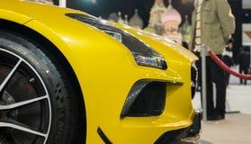 Mercedes SLS AMG Fotografia Stock Libera da Diritti