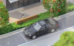 La Serbia; Belgrado; 24 marzo 2018; Modello miniatura di Merc parcheggiato Fotografia Stock Libera da Diritti
